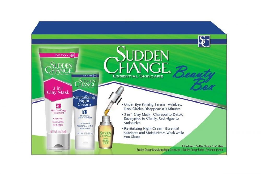 Sudden Change beauty box